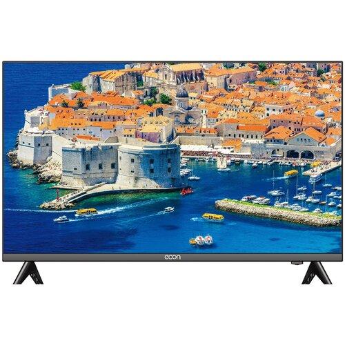 Фото - Телевизор ECON EX-43FS001B 43 (2020), черный тв стеллаж manhattan home city 1 2 white gloss pa26452 241 52