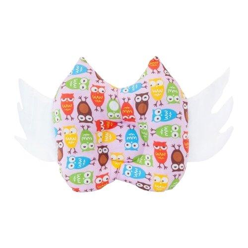 Купить Подушка Owl&EarlyBird Совушки (001BPR) розовый, Подушки и кресла для мам