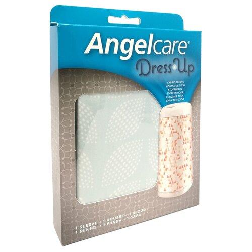 Купить Чехол для накопителя подгузников Dress Up AngelCare мятный/листья, Накопители подгузников