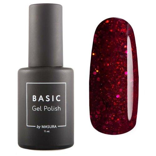 Гель-лак для ногтей Masura Basic, 11 мл, красная галактика гель лак для ногтей masura basic 11 мл саргассово море