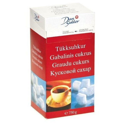 Фото - Сахар Dansukker Сахар белый кусковой, 750 г сахар темный dansukker кусковой 500 г
