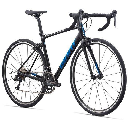Шоссейный велосипед Giant Contend 2 2021 цвет Black рама L