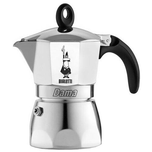 Гейзерная кофеварка Bialetti Dama (3 порции), серебристый