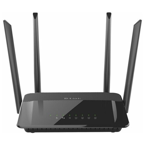 Wi-Fi роутер D-link DIR-842, черный wi fi роутер d link dir 878 черный [dir 878 ru]