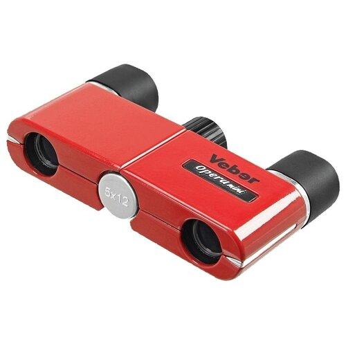 Бинокль Veber Opera mini 5x12 красный
