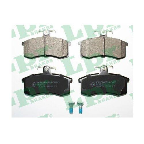 Дисковые тормозные колодки передние LPR 05P288 для LADA (ВАЗ) (4 шт.)