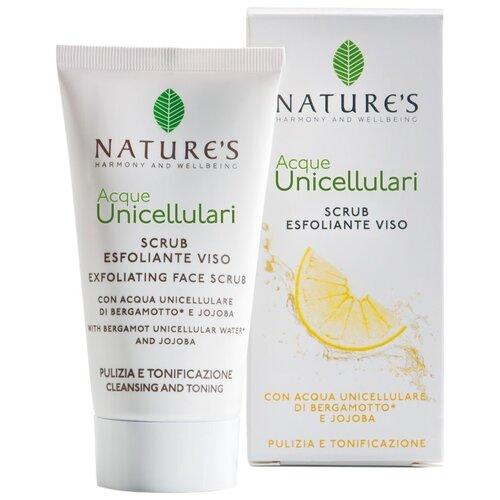 Купить Nature's скраб для лица Acque Unicellulari Exfoliating Face Scrub 50 мл