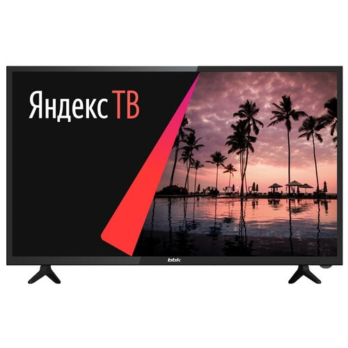 Фото - Телевизор BBK 32LEX-7268/TS2C 32 (2020) на платформе Яндекс.ТВ, черный bbk 32lex 7270 ts2c 32 черный