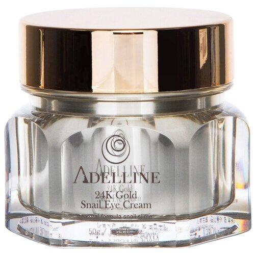 Купить Adelline Крем для кожи вокруг глаз с коллоидным золотом и слизью улитки 24K Gold Snail Eye Cream, 50 г