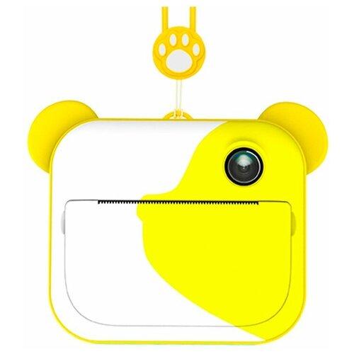 Фотоаппарат моментальной печати Lumicube DK04 yellow