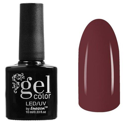 Гель-лак для ногтей Luazon Gel color, 10 мл, В1-072 коричневый недорого