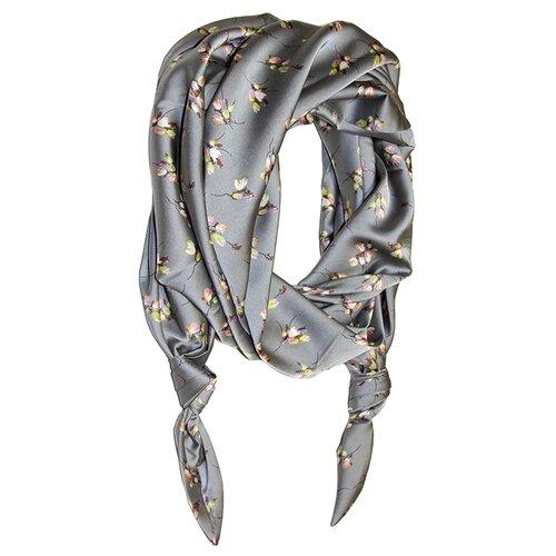 Двойной шарф-долька Оланж Ассорти серия Апрель с узелками ш-z-0318/255