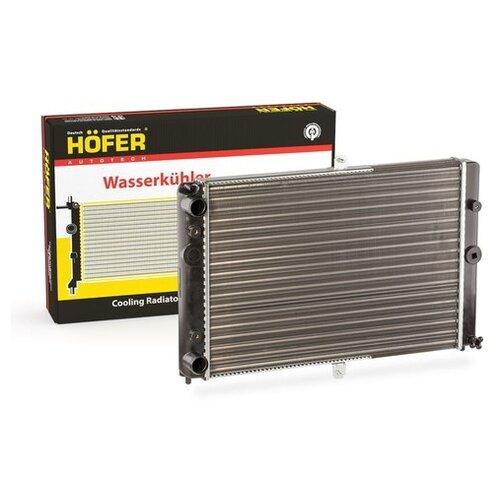 Радиатор охлаждения ВАЗ 2108 универ. HOFER HF 708 412 (Производитель: Hofer HF 708 412)
