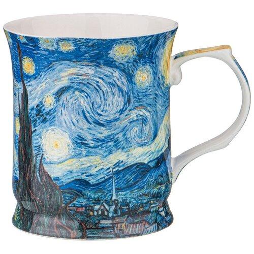 Фото - Кружка Lefard Звездная ночь 104-648, 420 мл, синий/белый сервиз чайный из фарфора звездная ночь 2 предмета 104 649 lefard