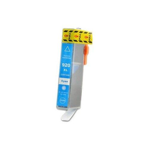Картридж CD972AE №920XL для принтеров HP водный голубой (cyan) для струйных принтеров совместимый