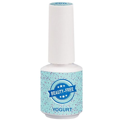 Фото - Гель-лак для ногтей Beauty-Free Yogurt, 8 мл, бирюзовый гель лак для ногтей beauty free gel polish 8 мл оттенок вишневый