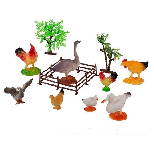 Фото - Набор фигурок Домашние животные 8шт. с декором набор фигурок домашние животные 6 шт