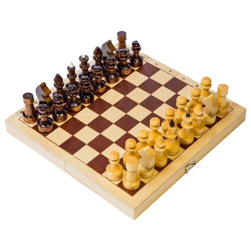 настольная игра шахматы гроссмейстерские с доской 43 21см ин 8976 Игра настольная Шахматы, Орловские шахматы, походные деревянные, с доской