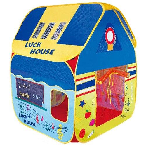 Фото - Палатка Рыжий кот Музыкальный домик 1512909, синий/желтый палатка jian hong замок принца 200280835 синий желтый