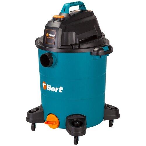 Профессиональный пылесос Bort BSS-1530-Premium, 1500 Вт профессиональный пылесос electrolite пс 30 1500 вт металл белый