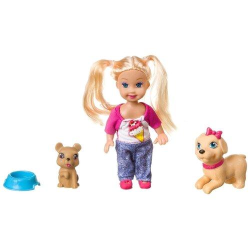 Фото - Игровой набор Bondibon OLY Куколка с домашними питомцами, ВВ3993 набор игровой bondibon кукольный уголок гостиная и куколка oly