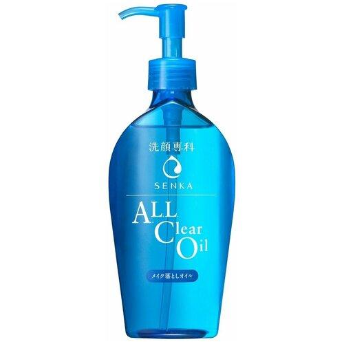 Shiseido гидрофильное масло для снятия макияжа Senka All Clear Oil, 230 мл