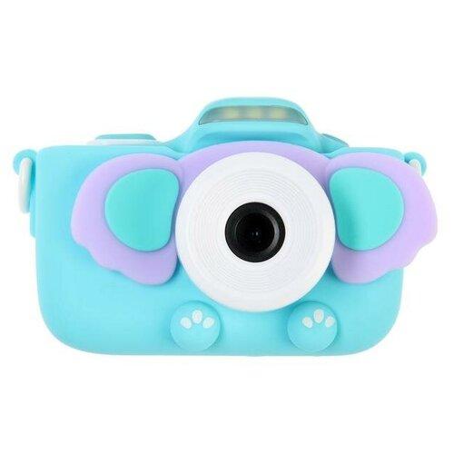"Фотоаппарат Сима-ленд Children's camera Dandy ""Слоник"" голубой"