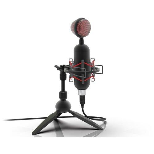 Микрофон Ritmix RDM-230, черный