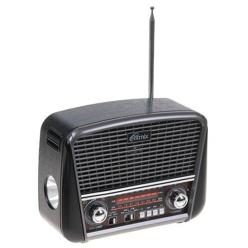 Радиоприемник Ritmix RPR-065 GRAY функция MP3-плеера фонарь 2498257