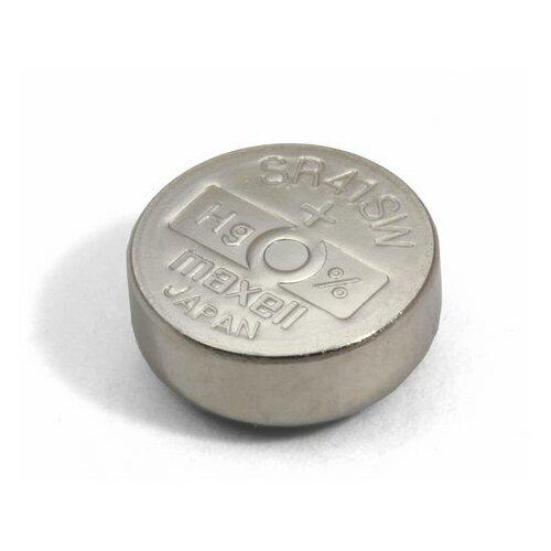 Фото - Батарейка оксид-серебряная MAXELL SR41 SW (384, 392F/392E, G3) батарейка maxell sr 621sw 1 шт