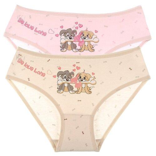 Купить Трусы для девочек 41821KO, Цвет: Микс, Размер: 6/7, 5шт. в упаковке, Donella, Белье и купальники