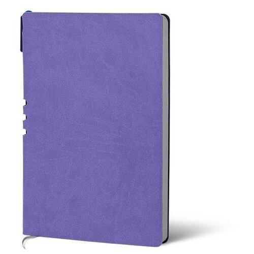 Купить Набор LOREX LXDRA5-CL, искусственная кожа, А5, 128 листов, лавандовый/серебряный, Ежедневники, записные книжки