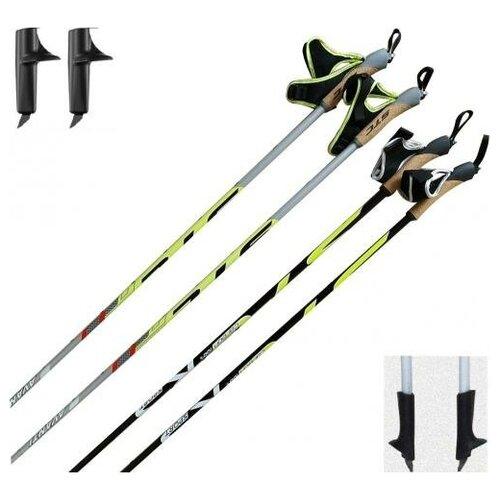 Лыжные палки STC Avanti Carbon с твердосплавным наконечником START 130 см