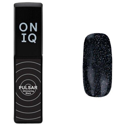 Купить Гель-лак для ногтей ONIQ Pulsar, 6 мл, 157 Glimmering Black