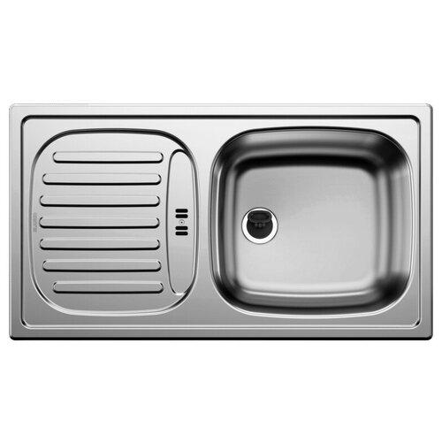 Фото - Врезная кухонная мойка 78 см Blanco Flex Mini нержавеющая сталь/декор кухонная мойка blanco flex mini 511918