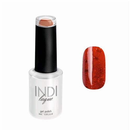Гель-лак для ногтей Runail Professional INDI laque с мелкими блестками, 9 мл, 4261 гель лак для ногтей runail indi laque 4248 бежевый с мелкими блестками 9мл