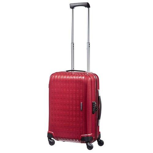 чемодан 55 см samsonite чемодан 55 см popsoda 40x55x20 см Чемодан SAMSONITE CHRONOLITE 40U*001 RED CHILLY 55/20