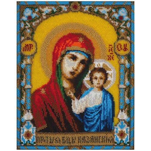 Купить PANNA Набор для вышивания бисером Икона Казанской Божией Матери 20.5 x 26 см (ЦМ-1136), Наборы для вышивания