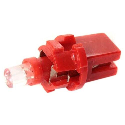 Маяк Лампа светодиодная маяк 12V T5(W1.2W) красный 12T5\P8.7-R
