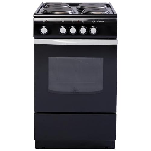 Электрическая плита De Luxe 5004.12э черный электрическая плита de luxe 5004 18э