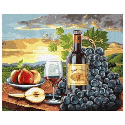 Купить Картина по номерам ВанГогВоМне ZX 20806 Виноградный натюрморт 40х50 см, Картины по номерам и контурам