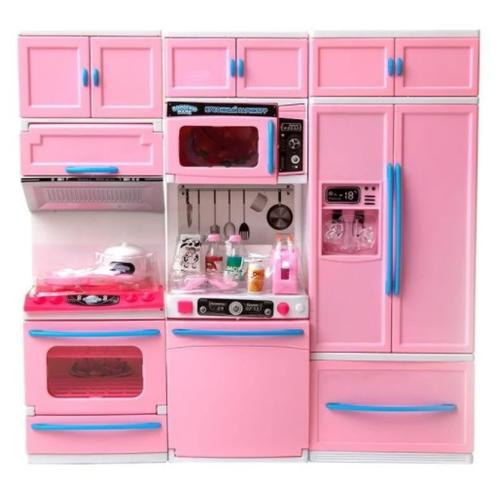 Фото - ABtoys Кухня Помогаю маме (PT-01342) розовый кухня abtoys помогаю маме pt 00791 розовый белый серый