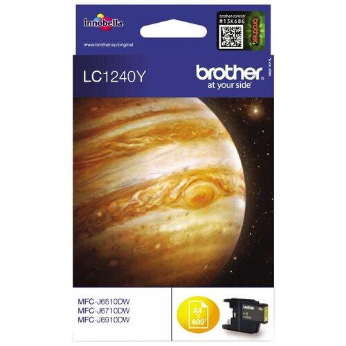 Картридж Brother LC-1240Y