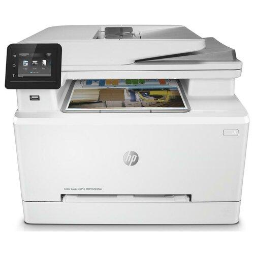 Фото - МФУ HP Color LaserJet Pro M283fdn, белый мфу hp laserjet pro m521dn
