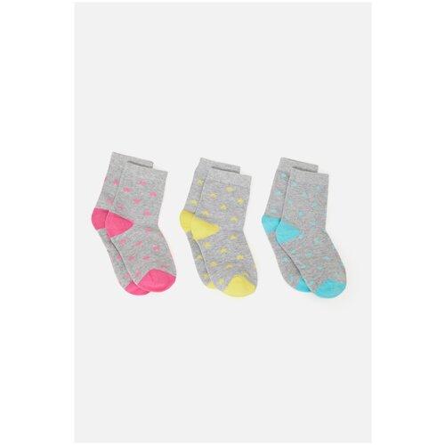 Носки 3 пары размер 16-18, цветной, ТМ Acoola, арт. 32224420088