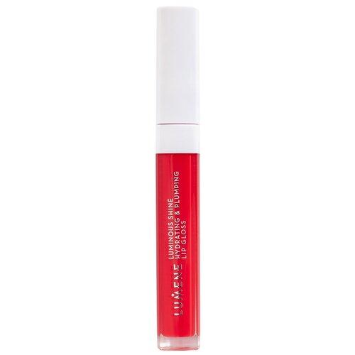 Купить Lumene блеск для губ Luminous Shine Hydrating & Plumping Lip Gloss, 8 intense red