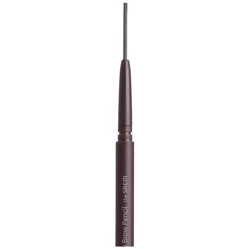 The Saem карандаш Eco Soul Skinny Brow Pencil, оттенок 02 gray brown карандаш для бровей eco soul skinny brow pencil 0 08г 03 dark brown
