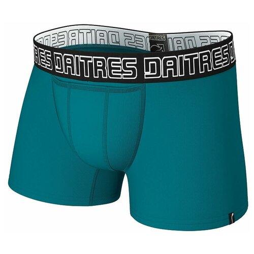Daitres Трусы боксеры удлиненные с профилированным гульфиком, размер 5XL/62, петрол