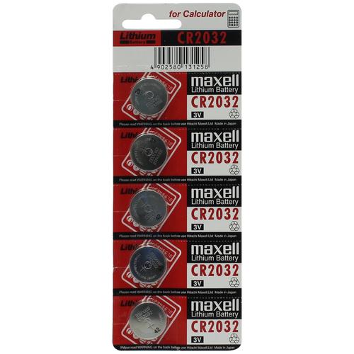 Фото - Батарейка CR2025 литиевая Maxell CR2025-5 3V 5 шт батарейка maxell sr 621sw 1 шт