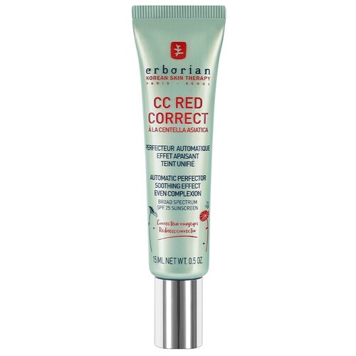 Erborian CC крем Red Correct, SPF 25, 15 мл  - Купить
